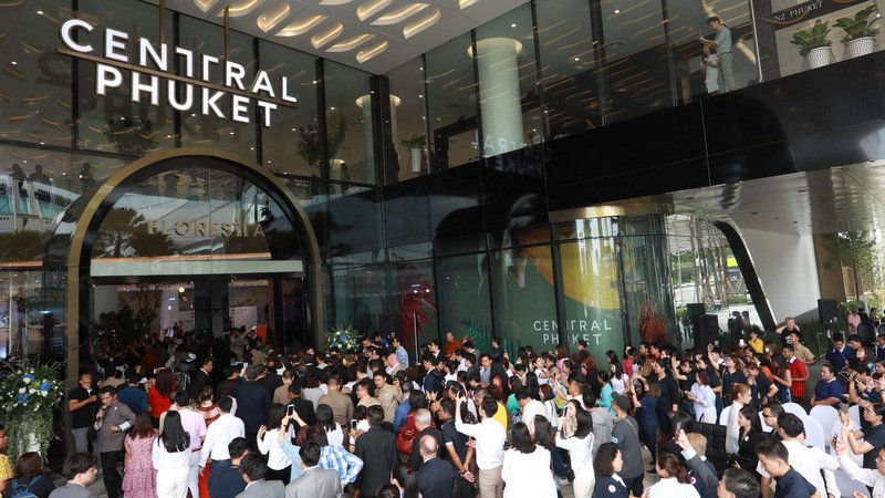 Central Phuket opens for business