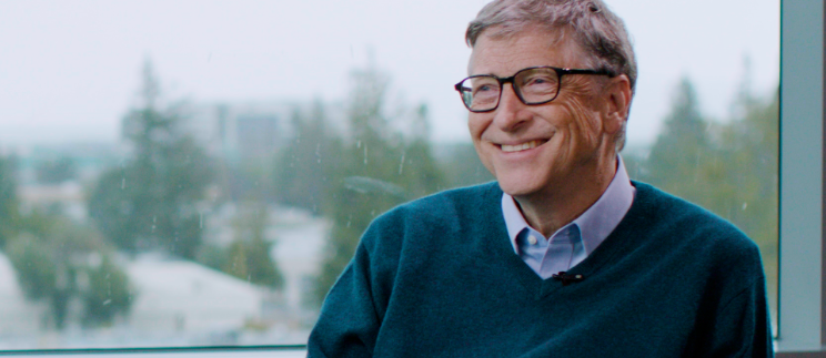 It might surprise you, but Bill Gates believes the world is getting better