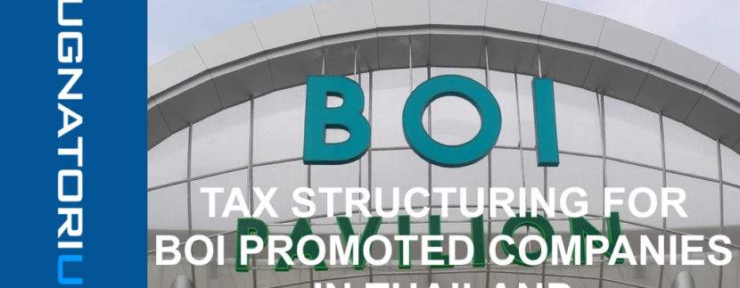 Tax structuring for BOI promoted companies