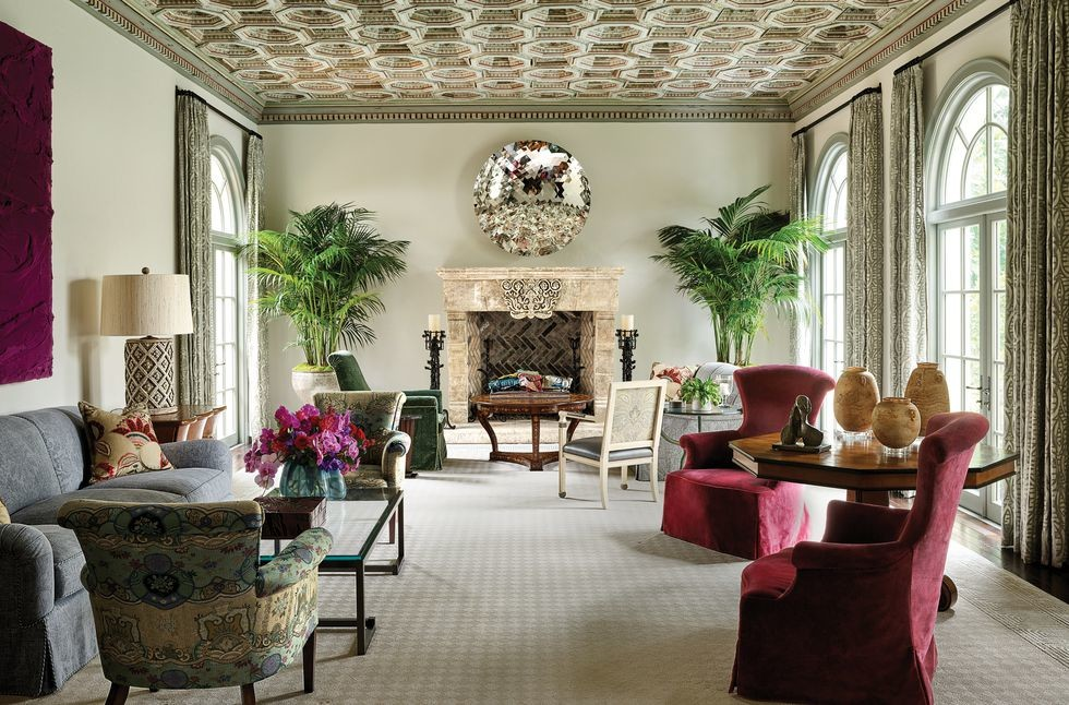 A LEGENDARY 1920S PALM BEACH HOUSE IS A SHOWCASE FOR A STRIKING ART COLLECTION 2