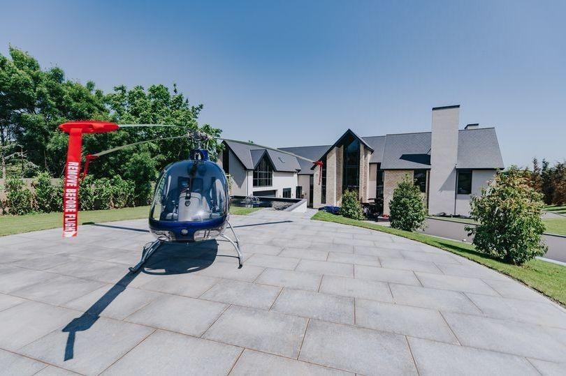 Inside one of UK's most expensive houses with panic room and walk-in wine cooler