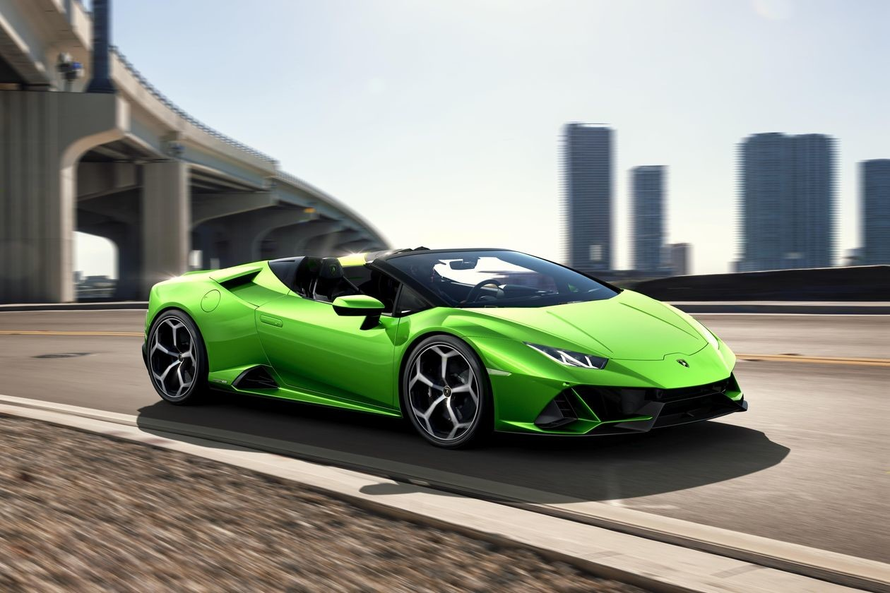 The Lamborghini 2020 Huracan Evo Spyder Packs A Lot of Punch in a Little Package