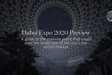 Dubai Expo 2020 Preview A guide to the massive event that could alter the landscape of the city's real estate market 15