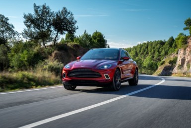 The DBX is the Family-Friendly Aston Martin 10