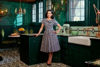 Step Inside Dita Von Teese's One-of-a-Kind L.A. Home 15