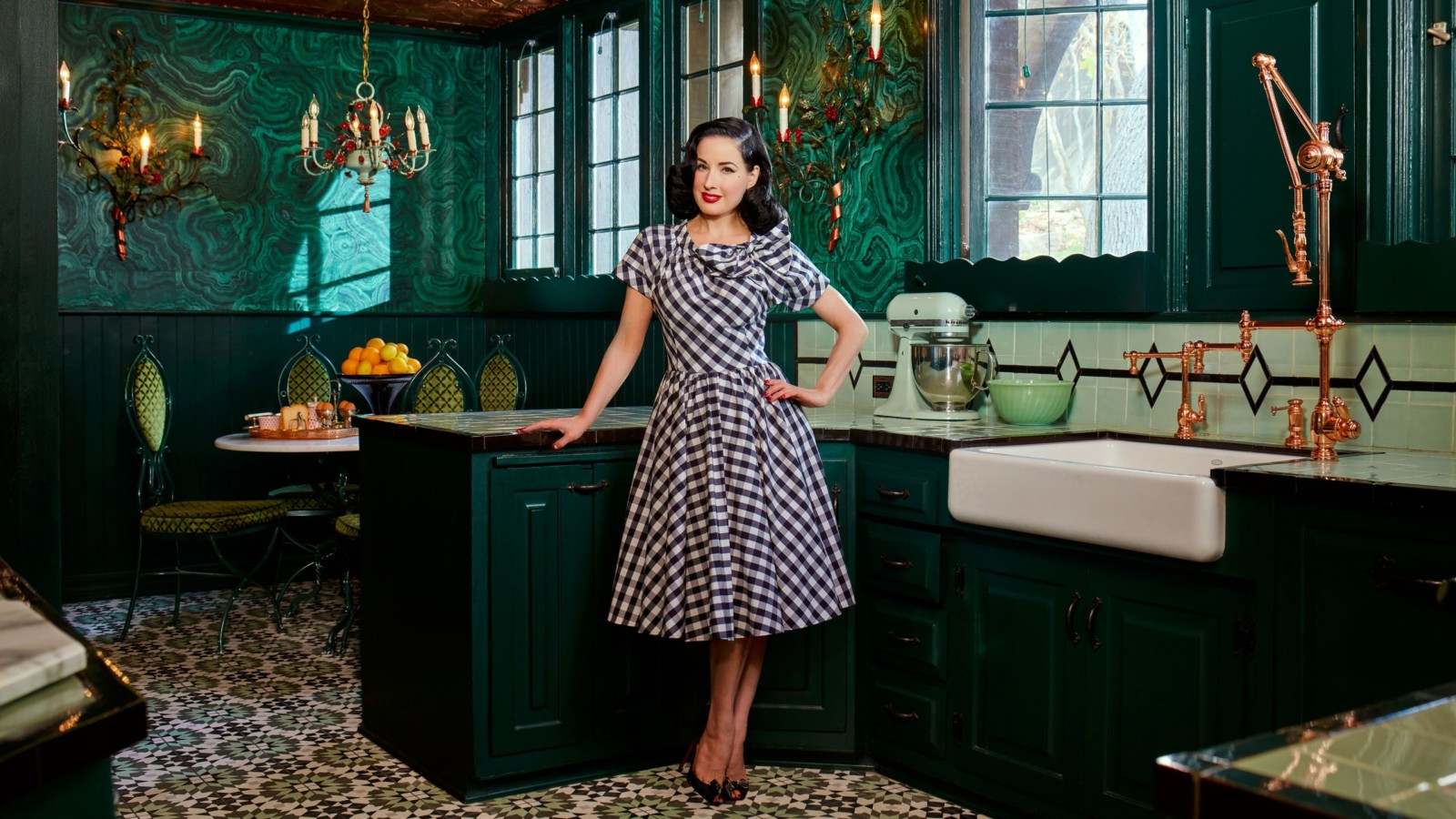 Step Inside Dita Von Teese's One-of-a-Kind L.A. Home